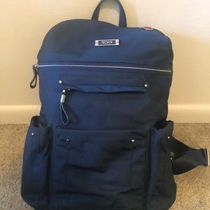Small blue Tumi backpack